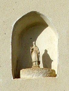 Statuette Saint Martin